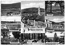 AK, Mönchberg im Spessart, acht Abb., um 1962