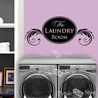 The Laundry Room Vinyl Wall Scrolls Art Home Decoration Quote Decal Sticker