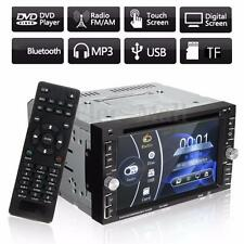 "Double 2Din 6.2"" Car Stereo DVD&CD&MP3 Player HD In Dash Bluetooth Ipod TV Radio"