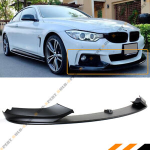 For 14-19 BMW F32 F33 F36 4 Series M Sport Bumper Performance Front Lip Splitter