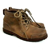 Timberland Mens Boots UK 7 Earthkeepers Brown Leather
