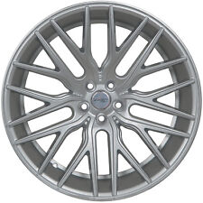 4 GWG Wheels 22 inch Silver FLARE Rims fits CHEVY CAPRICE 2011 - 2018