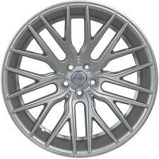 4 GWG Wheels 22 inch Silver FLARE Rims fits MERCEDES S550 (222) 2014 - 2018