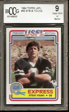 "STEVE YOUNG 1984 TOPPS USFL #52 RC XRC BCCG 9 NR MT/BETTER ""CENTERED"""