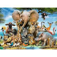 1000 Piece Jigsaw Puzzles Animal World Cartoon Toy Adults Children NEW Gift Z6B9