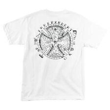 Independent Trucks Pool Scum Skateboard Shirt White Xxl