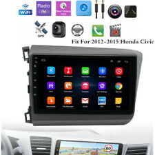 Fit For 2012-2015 Honda Civic Car Mp5 Player Stereo Radio Audio Gps Android 9.1