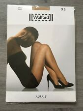 Collant Wolford Aura 5 Taille XS couleur Caramel neuf
