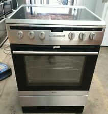 AMICA608CE2TAXX 60 cm Electric Ceramic Cooker - Stainless Steel