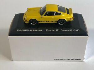 WELLY MAP01997414 Porsche 911 Carrera RS Jaune 1973 Porsche Museum 1/43
