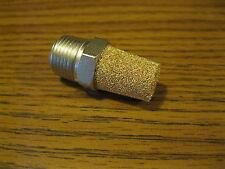 """Gast Vacuum/Compressor Mod 1023, 0823 Brass Filter/Muffler 3/8"""" NPT part # AK840"""