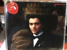 CD PIANO  RACHMANINOFF Piano Concerto  #3  KISSIN  OZAWA Boston SYMP. ORCH.