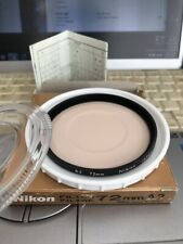 New Nikon 72mm A2 Warming Filter Screw-In Mount