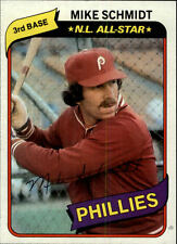 1980 Topps #270 Mike Schmidt DP HOF Philadelphia Phillies