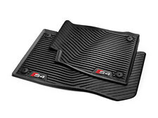 2018 Audi S4 Genuine Factory OEM Accessory Rubber Floor Mats - SET OF 4