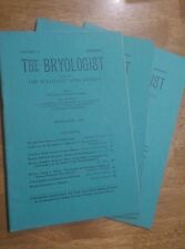 The Bryologist William C. Steere Vol 43 No 1 3 & 6 1940, Sullivant Moss Society