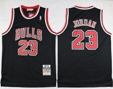 NBA Jersey Michael Jordan 23 Chicago Bulls Retro Black Basketball Swingman
