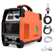 Cut55 Digital Air Plasma Cutter 110v 220v 50a Inverter Pilot Arc Cutting Machine