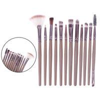 12 Pcs Pro Makeup Brushes Cosmetic Set Eyeshadow Face Brush Starter T FE