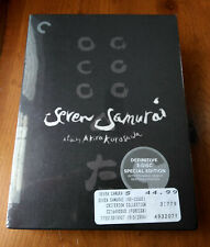 ✅ Seven Samurai (Dvd) Criterion 3 Disc Special Edition, Brand New Sealed