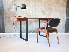 60er Teak Schreibtisch Danish Mid-Century 60s Vintage Writing Desk
