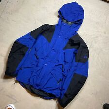 Vintage EMS Gore-Tex Mountain Light Ski Climbing Jacket Small Blue Parka Sport