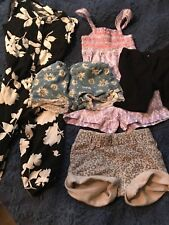 toddler 2t girls lot- dresses, shorts, pantsuit- old navy and crazy 8, and misc.