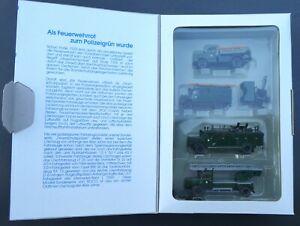 Feuerschutzpolizei 1:87 Special Edition 1988 Roco 1356  H0 1:87  in OVP #2450
