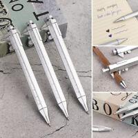 Measuring Unisex Vernier Calipers Pen Ballpoint Write Tool Scale Ruler