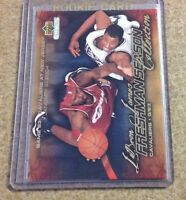 #34 Lebron James Rookie Mail Redemption ($40.00) 2003 SCARCE Sold Out Cleveland