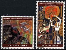 United Nations Geneva 1995 SG#273-4 Conference Of Women MNH Set #D50092