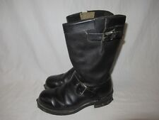 Vintage SEARS Steel Toe Engineer Motorcycle Riding Biker Engineer Boots 9 E USA