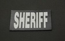 SOLAS IR Reflective SHERIFF Department County LEO Patch 3M SOLAS Infrared