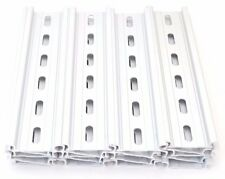 20 Pieces DIN Rail Slotted Aluminum RoHS 6 Inches Long 35mm 7.5mm 10 Feet Total