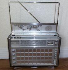 Vintage PHILIPS transworld deluxe Ham shortwave receiver radio James Bond movie