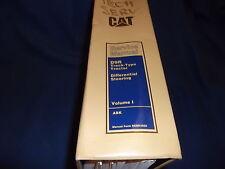 CAT CATERPILLAR D9R TRACTOR SHOP REPAIR SERVICE MANUAL S/N ABK1-UP VOLUME 1 I