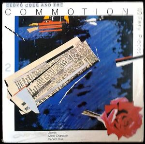 LLOYD COLE And The Commotions - Easy Pieces - Spain  LP Polydor 1985 - James