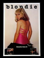 """BLONDIE 16"""" x 12"""" Reproduction Promo Poster Photo"""