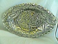 ARTHUR COURT SHALLOW OVAL SERVING BOWL OR TRAY BUNNIES MOTIF - 1990 (#64)