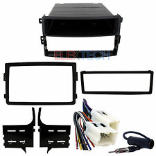 Radio Replacement Dash Mount Kit 1 or 2-DIN w/Pocket/Harness/Antenna for 350Z