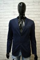Giacca Blazer Blu Uomo LIU JO Taglia 48 ( L ) Cappotto Jacket Man Primaverile