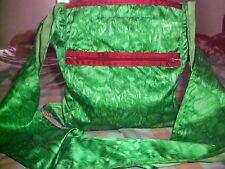 Unique Ladies Women's Funky Festival  / Beach Green Colour Trendy Hand Bag