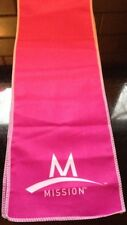 Mission Athletecare Enduracool Instant Cooling Towel ~ PINK ~ LOT OF 50