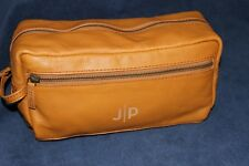 POTTERYBARN Mark & Graham Everyday Leather Travel Pouch Bag NWOT Free Ship J/P