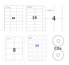 Universal Etiketten 60 mm rund 1200 Papieretiketten weiß selbstklebend 100 Bl