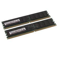 Samsung DDR2-RAM 16GB-Kit 2x8GB PC2-5300P ECC 2R - M393T1K66AZA-CE6