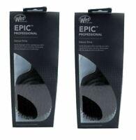 Wet Brush Pro Epic Deluxe Shine Enhancer Paddle Brush Black - 2 PACK (BRAND NEW)