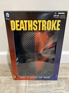 DC Comics ~ DEATHSTROKE Gods of War, Vol. 1  & Mask Box Set +3 FREE Comic Books