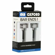 Weighted Handlebar bar ends > Oxford 1 Aluminium 22mm - Silver