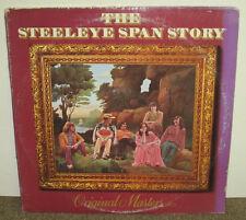STEELEYE SPAN STORY Original Masters, Chrysalis vinyl LP, 1977, VG/VG-,folk rock